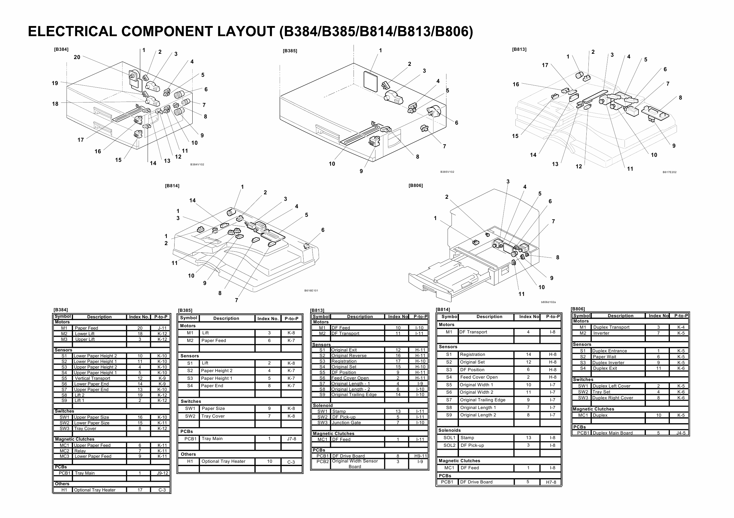 RICOH Aficio MP-C1800 D045 Circuit Diagram-4